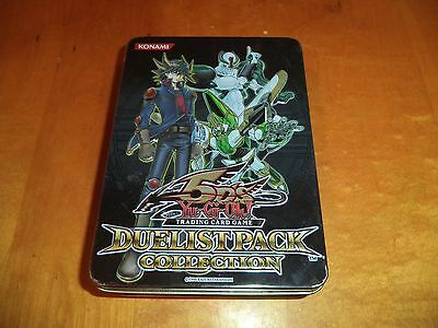 Yu-Gi-Oh! Empty 5D's 2011 Duelist Pack Collection Tin Box Yugioh