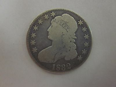 1832 Capped Bust ~ Lettered Edge $.50 Half Dollar ~ Fifty Cents