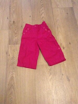 Baby girls trousers age 6-9 months