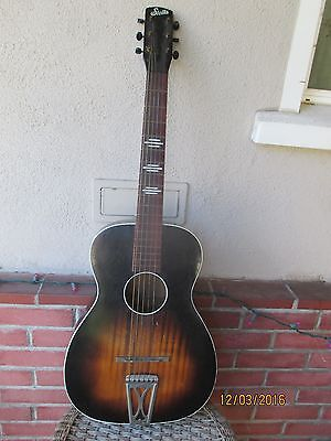 Stella by Harmony H929 Parlor Size Acoustic Guitar