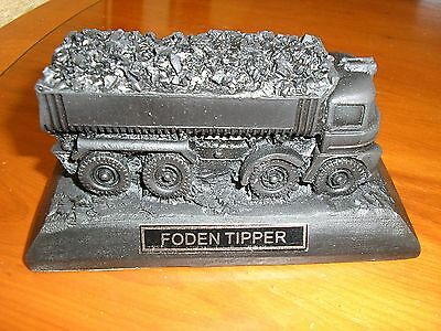 Foden Tipper  Lorry Model - Made From Coal - Brand New With Box