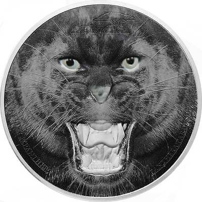 2017 Black Panther 62.2g Proof Silver Coin