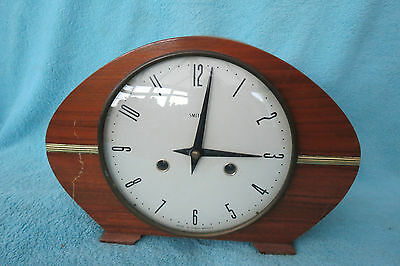 VINTAGE 1960s SMITHS MANTEL CLOCK FOR SPARES REPAIR