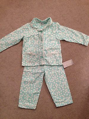New With Tags! Girls 12-18 Months Super Soft & Warm Brushed Cotton Pyjamas!