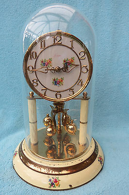Large Vintage Kern Anniversary  Torsion Clock For Spares Repair