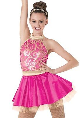 Pink Dance Costume - BN - Size = Large Child