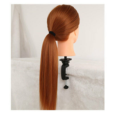 Doll Hairdressing Plastic Metal Mannequin Training Head Stand Holder Head Clamp