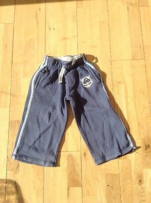 Boys Blue Joggers Age 1.5 - 2 Years