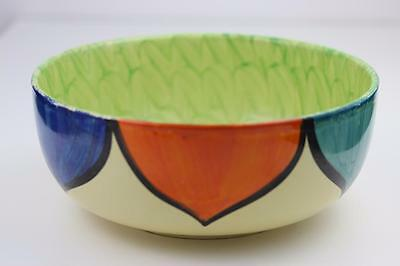 Myott Son & Co Large Hand Painted Bowl c1930's