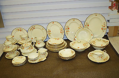 Dinner and Tea Set Alfred Meakin Marquis shape Marigold
