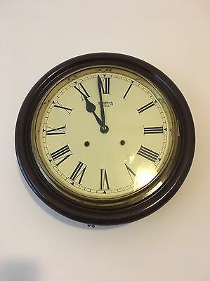 Smiths Antique Wooden Wall Clock