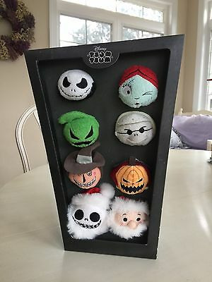 Disney The Nightmare Before Christmas Tsum Tsums Complete Set Of 8-NEW! In Box!