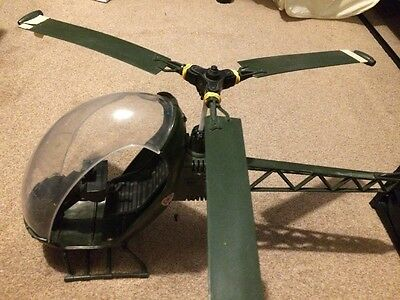 ACTION MAN - Helicopter - vintage . Spares Or Repairs