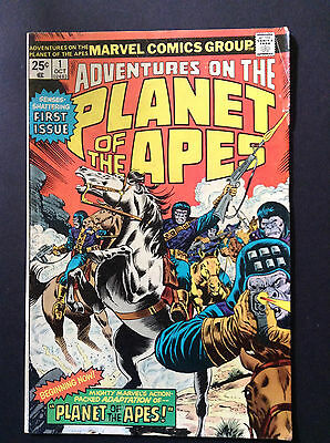 Adventures on the Planet of the Apes #1 VG Marvel Comics 1970's