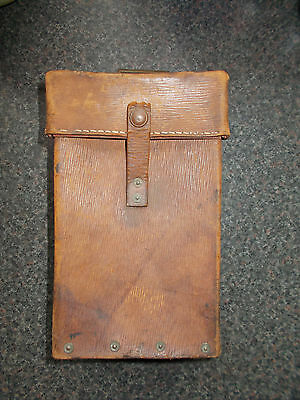 WW2 1939 Pattern Leather Female Auxiliary Pouch - Home Guard