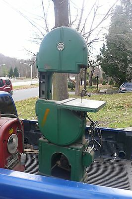 "Walker Turner 16"" Wood/Metal Vintage Vertical Band Saw"