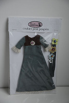 Hard to find Stellinna Blythe doll maxi dress and headband. Kenner or neo