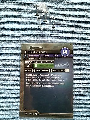 UNITED STATES HELLDIVER SB2C . Axis & Allies #010 FLANK SPEED