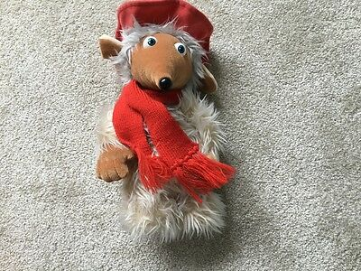 "Orinoco The Wombles soft toy plush 11"" 1998"