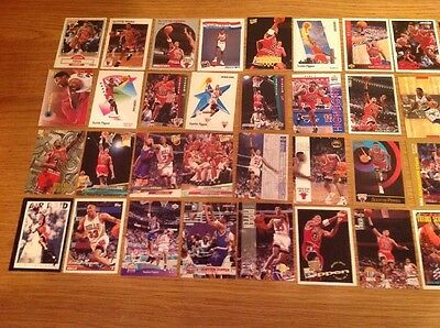 40 Scottie Pippen NBA Basketball Trading Cards Vintage
