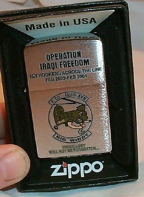 Helocopter Army  BIG WINDY 1st  HOOKERS Zippo 159th AVN