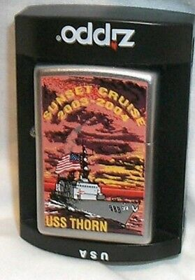 USS Thorn  ZIPPO Navy Lighter Final SUNSET CRUISE 03-04