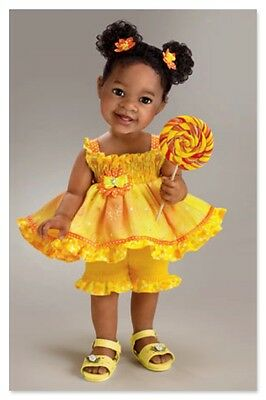 Child doll ''SUNSHINE AND LOLLIPOPS'' by Jane Bradbury