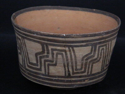 Ancient Teracotta Painted Pot Indus Valley 2500 BC No Reserve  #PT15136