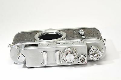 Zorki 4 rangefinder camera body based on Leica,  after CLA services