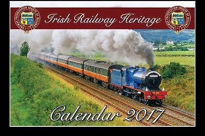 Railway Preservation Society of Ireland 2017 colour calendar
