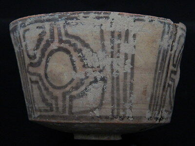 Ancient Teracotta Painted Pot Indus Valley 2500 BC #PT15141