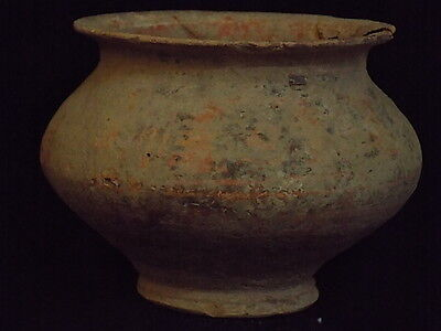 Ancient Teracotta Painted Pot Indus Valley 2500 BC #SG8598
