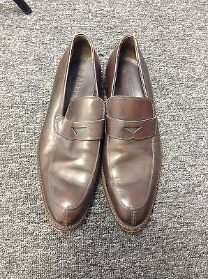 BALLY Size 8 Brown Loafer Dress Shoes,CANOSIO,Made in Switzerland,MINT,Vintage