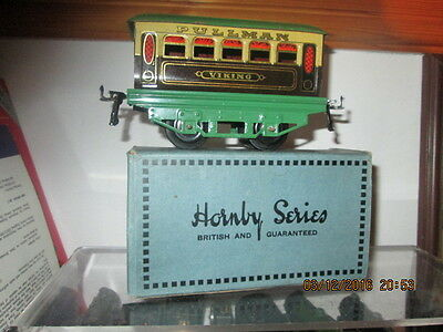 "Hornby 0 Gauge  M1/2 Pullman Coach "" Viking "" With Box"