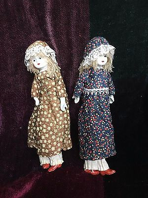 EVELYN & ELEANOR: Haunted Doll - Vessel for Active Spirits! Twin Sisters Energy