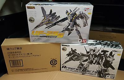 Macross Frontier dx Bandai GE-55 VF-25S OZMA Type RENEWAL MISB + armored parts
