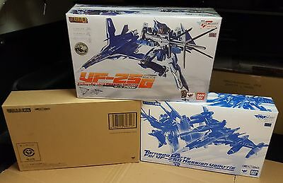 Macross Frontier dx Bandai GE-57 VF-25 G Michael blanc custom MISB + parts