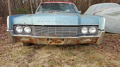 1967 Lincoln Continental  1967 Lincoln continental 4 door convertible