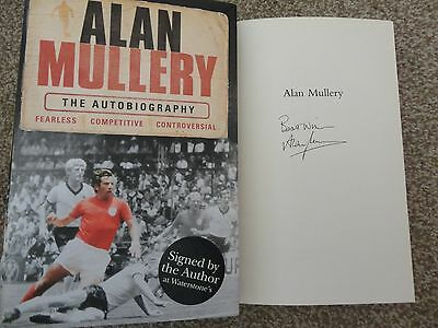 Signed Alan Mullery Autobiography