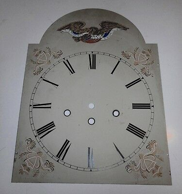 Grandfather Clock dial painted