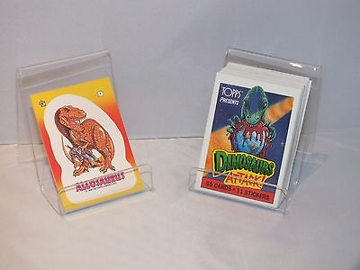 Dinosaur Attack Trading Cards Complete Set 1988