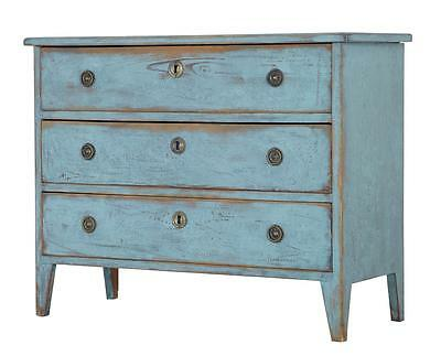 19Th Century Swedish Painted Chest Of Drawers