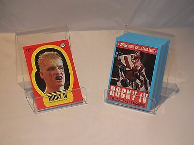 Rocky IV Trading Cards Complete Set 1985