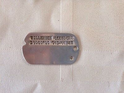 Authentic Australian Issue Dog Tag WWII