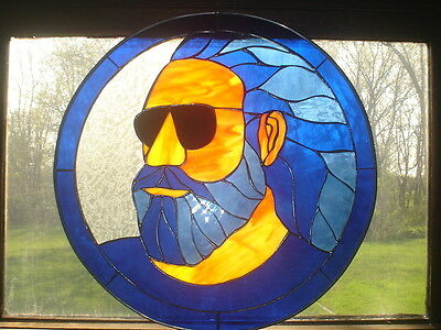 Jerry Garcia Stained Glass Grateful Dead *One Of A Kind*