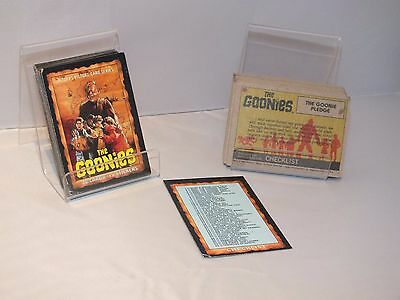 The Goonies Trading Cards Complete Set 1985