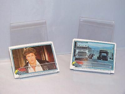 Knight Rider Trading Cards Complete Set 1982
