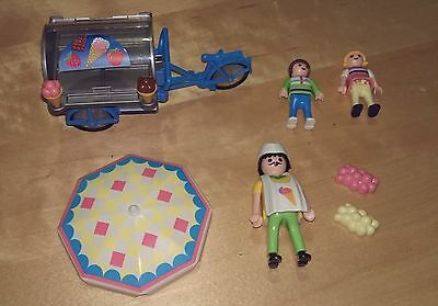 Playmobil 3244 Ice Cream Cart - with figures