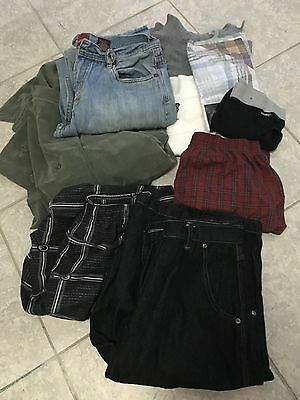 Bulk Men's Clothing Size Large. 82.
