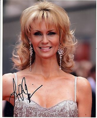 Leigh Zimmerman Autograph Signed 10x8 Photo [6195]